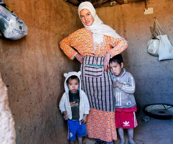 rural moroccan family