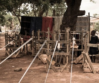 Ghana weaving arts tours