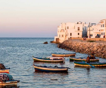 Guided group tours to Tunisia