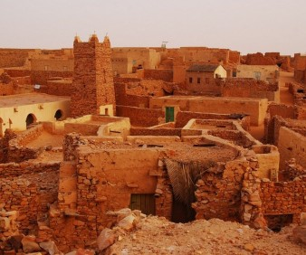 Visiting cultural sites in Mauritania