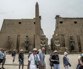 Egypt group tours visiting Luxor Temple