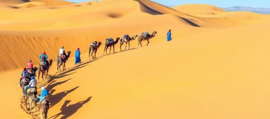 Overland tours to Tunisia with desert trekking